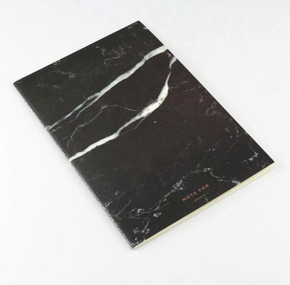 Мраморный блокнот блокнот из мрамора идеи рождественских подарков