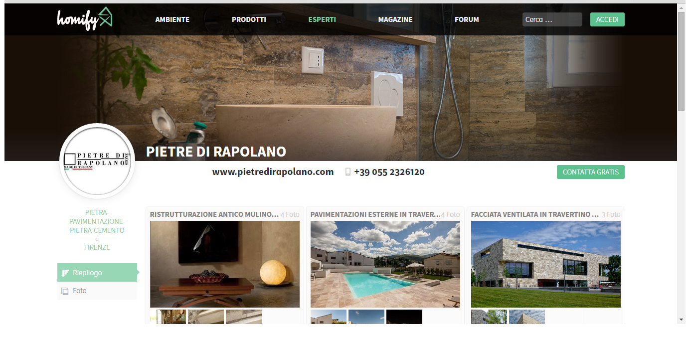 Камни раполано homify архитектура проекты травертин материалы проект травертин италия