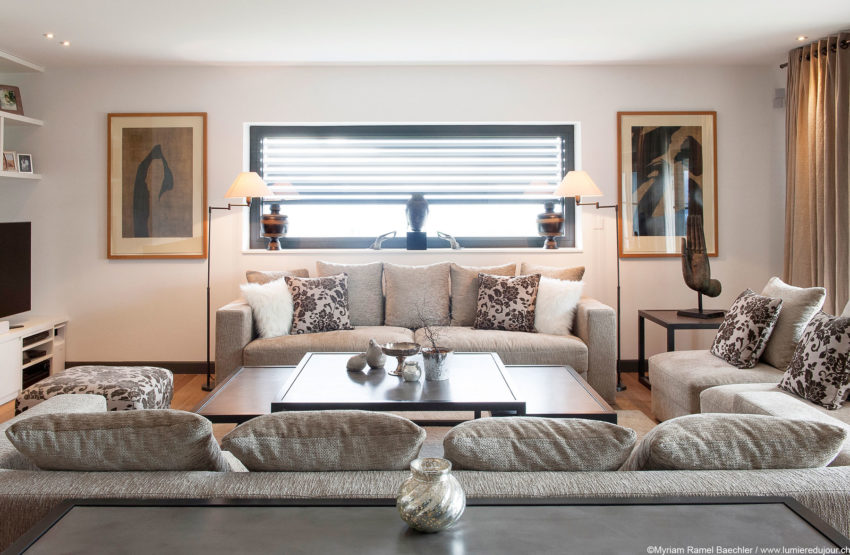 Интерьер швейцарского дома Кэролайн Бродард